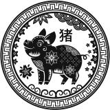 Chinees Sterrenbeeld Varken